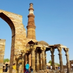 India - New Delhi - Qutub Minar