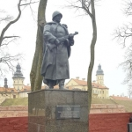 Belarus - Nesvizh Castle - Monument to the Heroes of the Great Patriotic War