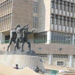 South Africa - Johannesburg - Gold Miners Monument