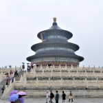 China - Beijing - Temple of Heaven - Hall of Prayer for Good Harvests