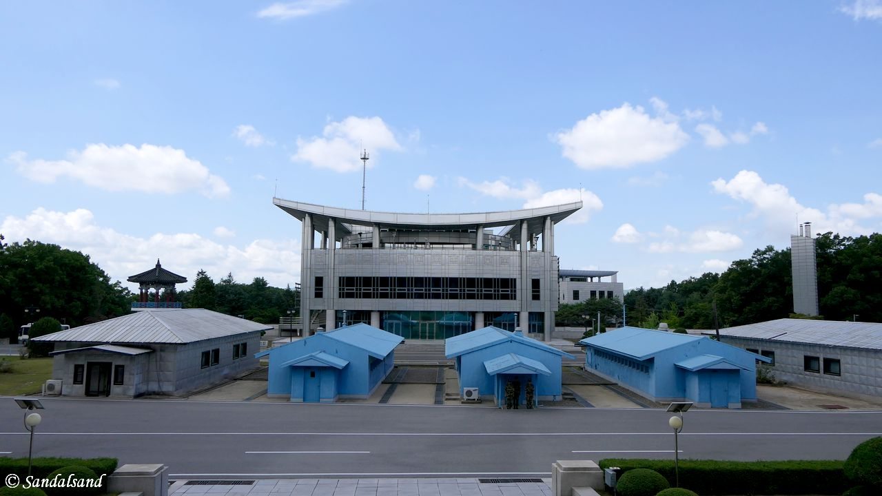 DPRK - DMZ - Joint security area