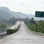 DPRK - Main Road South - Reunification Highway Rest Stop