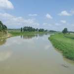 DPRK - Railway Line West (to China) - Potong River