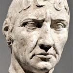 Germany - Berlin - Museumsinsel - Altes Museum - Head of a Man (Italy, 100-50 BC)