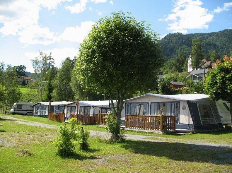 Camping Bandak - Caravans and foretents