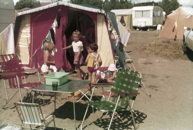 Camping Family Tent and furniture - Oslo Museum 1970-73