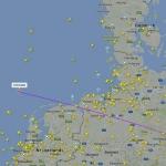 Flightradar screenshot (website version)