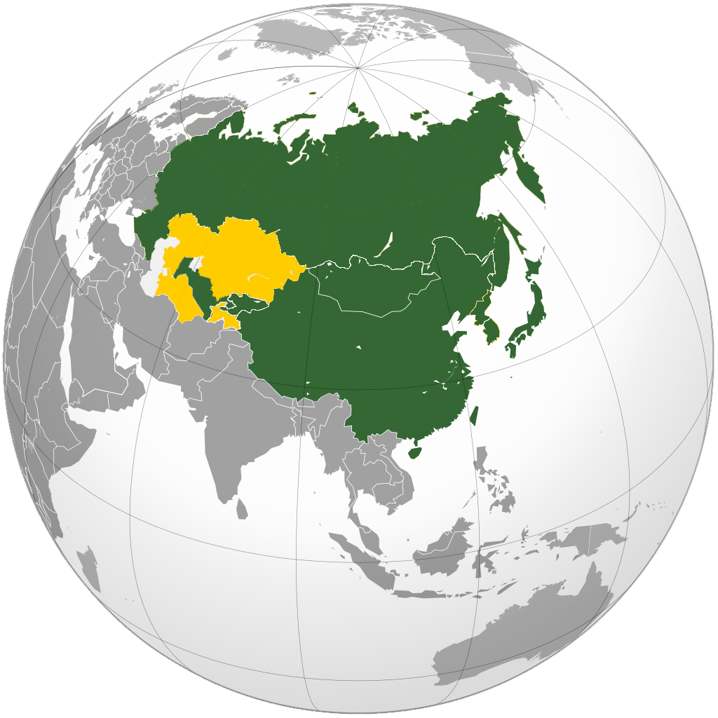 Asia North East and Central
