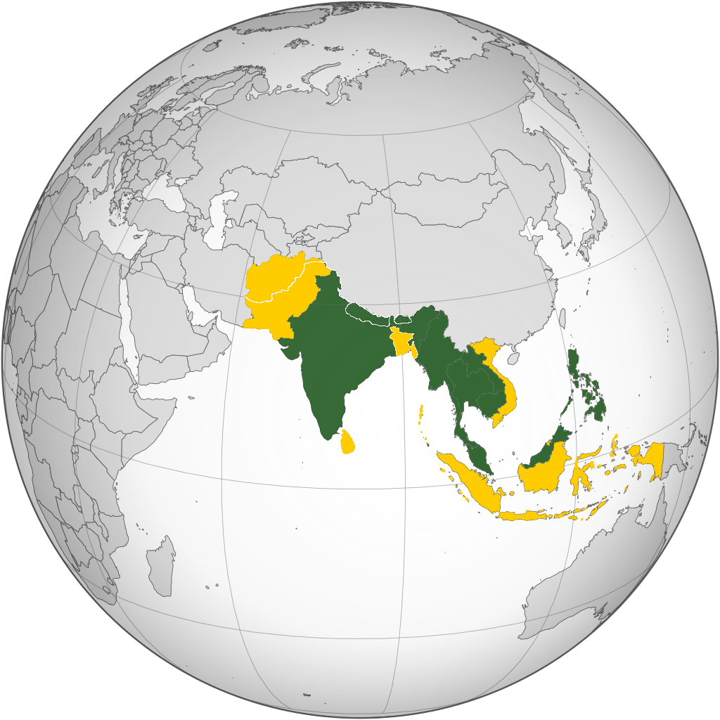 Asia South and Southeast