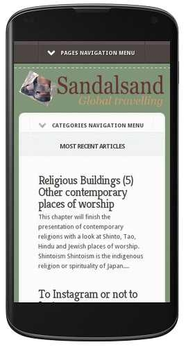 Sandalsand on Mobile