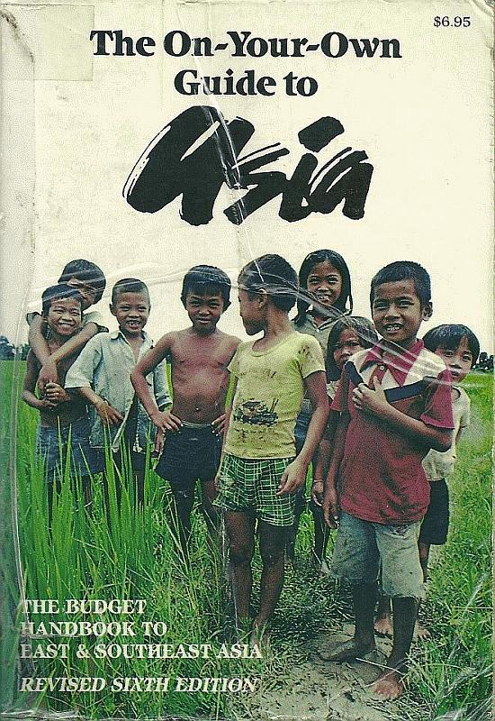 My guidebook to Asia in 1985