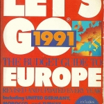 """Let's Go Europe"" used in 1991"