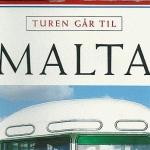 """Aschehoug Reisehåndbøker """"Turen Går Til Malta"""" used in 2008"""