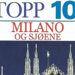 """Gyldendals Reiseguider (DK Eyewitness) """"Topp 10 Milano og sjøene"""" used i 2013"""