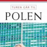 """Aschehoug Reisehåndbøker """"Turen går til Polen"""" used in 2013"""