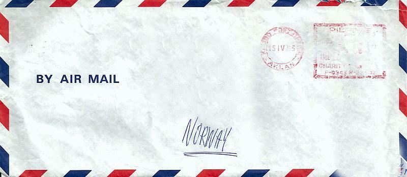 Asia 1985 Envelope-06 Boracay