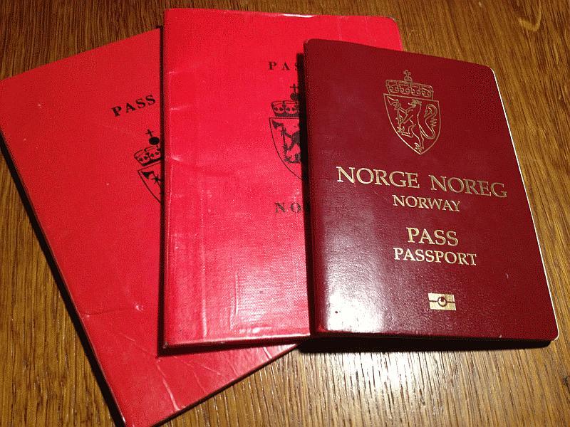 My Norwegian passports