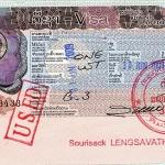 Laos Visa, 2009