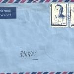 Asia 1985 Envelope-07 Baguio