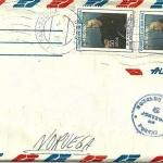 SA 1987-88 Envelope-06 La Paz
