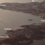 Norway - Air view of Viste and Kvernevik hikes