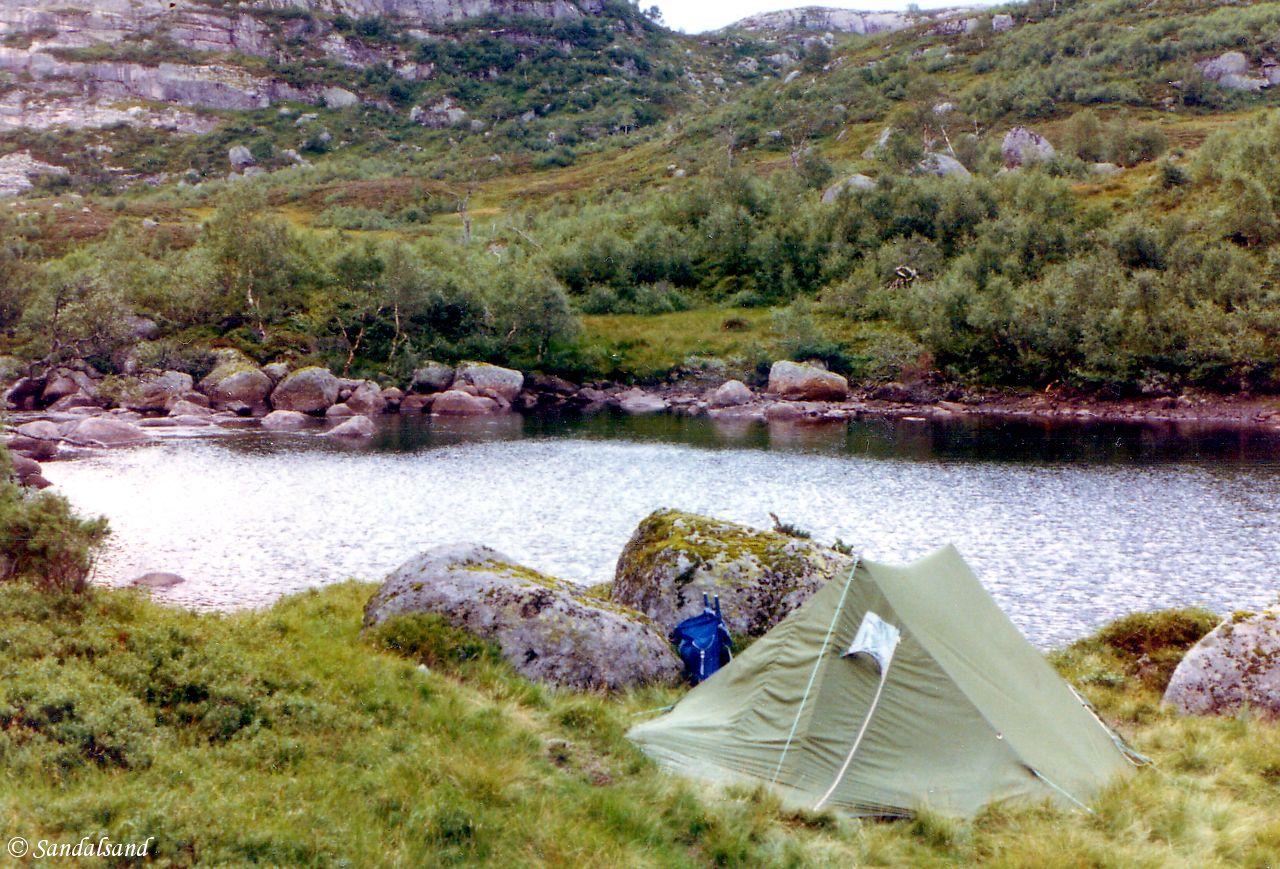 Norway - Tenting near Hovlandstølen, Bjerkreim