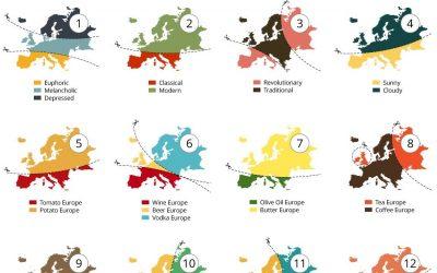 20 Ways to Slice Europe