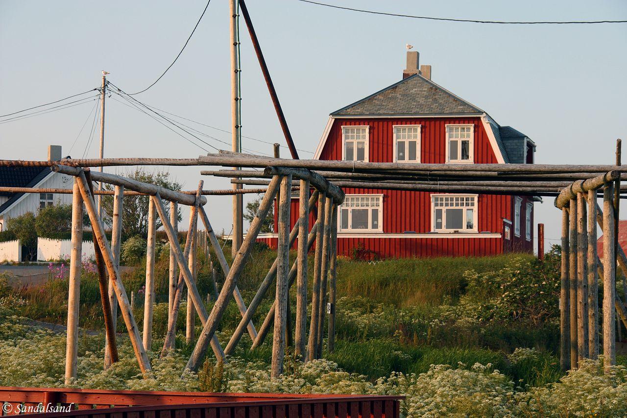 Røst lies at the extreme edge of Lofoten, Norway