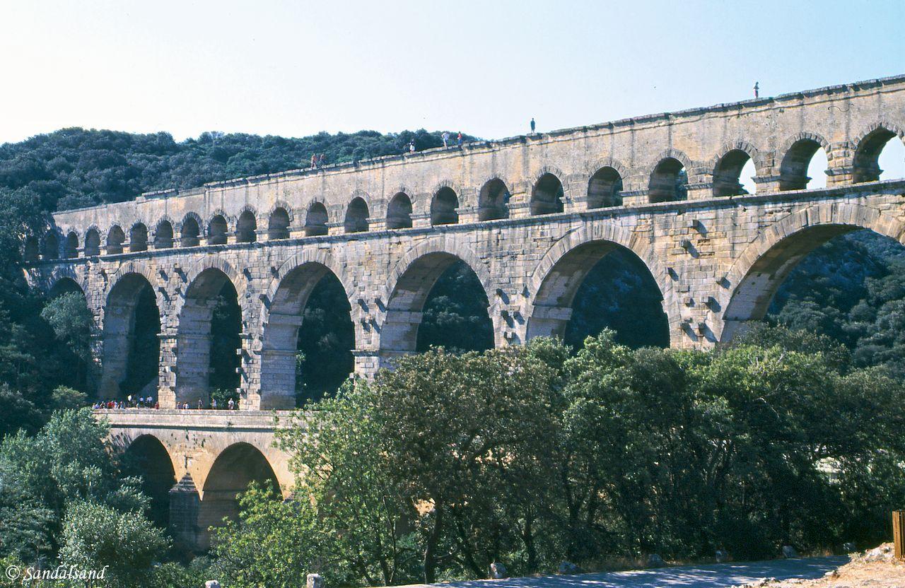 World Heritage #0344 – Pont du Gard (Roman Aqueduct)
