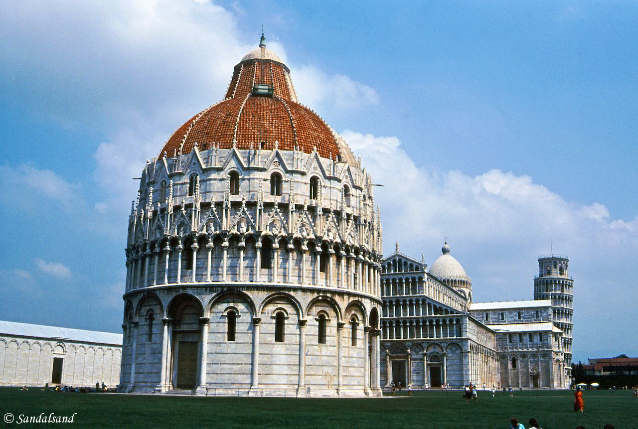 World Heritage #0395 – Piazza del Duomo, Pisa