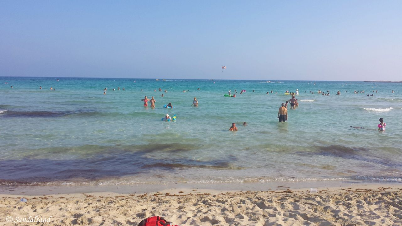 The easy life on the beaches of Ayia Napa, Cyprus
