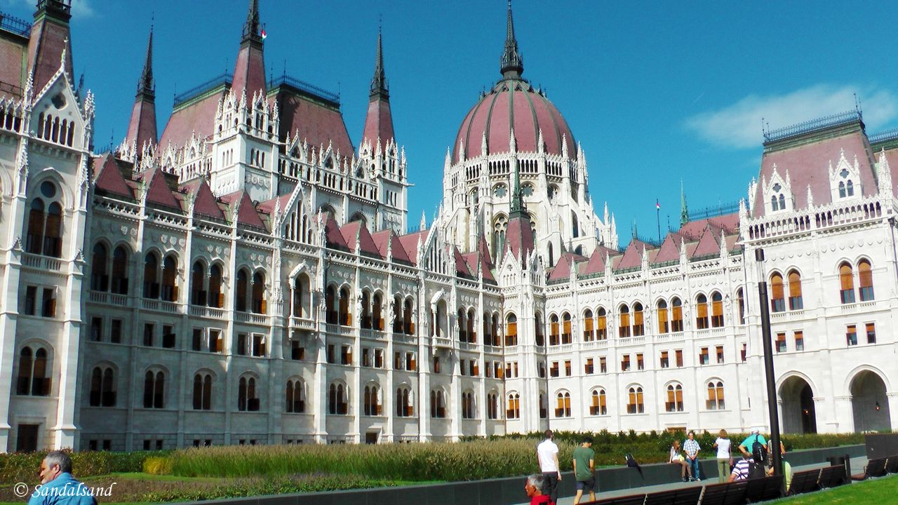 The Pest side of the Danube, Budapest