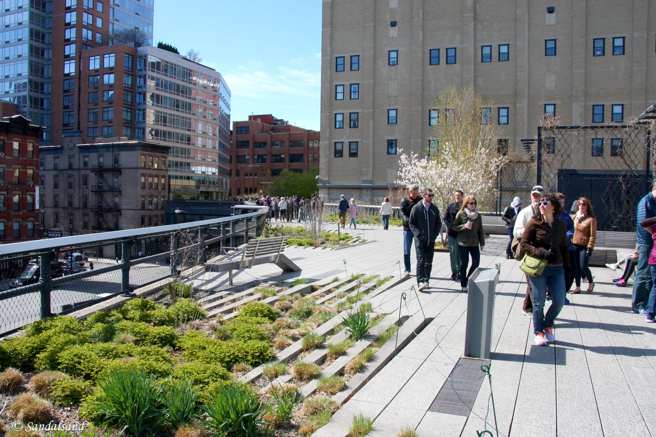 The High Line, Greenwich Village and Flatiron – New York