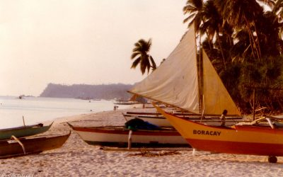 My last days on Boracay Island, a letter home and an epitaph