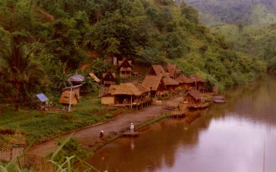 Northern Thailand – A view of the forbidden countries of Burma and Laos