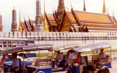 Last days in Bangkok, a cloudy island stay and the end of a long journey