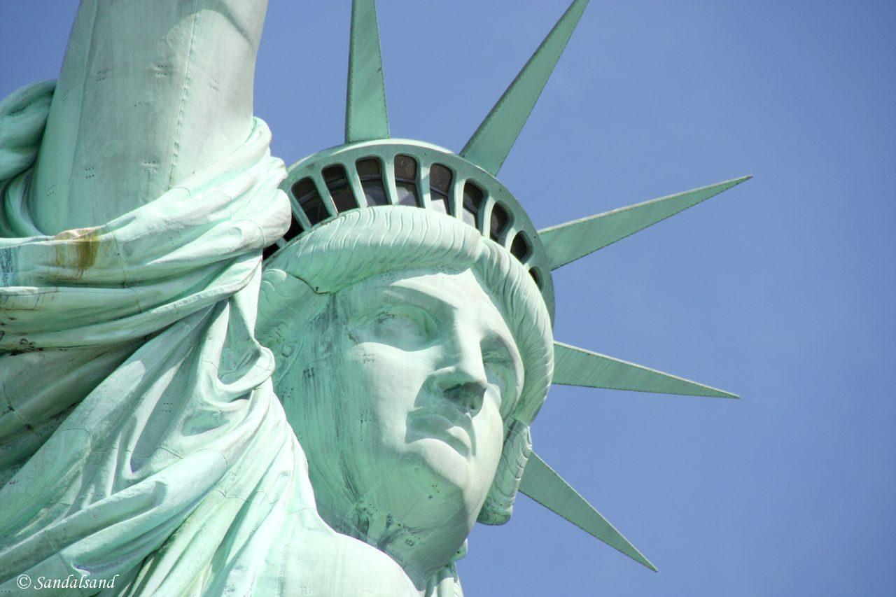 USA - New York - Liberty Island