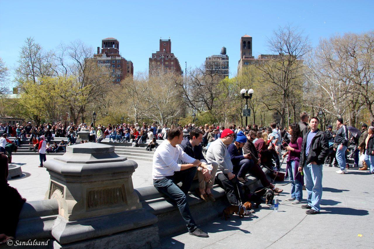 USA - New York - Washington Square