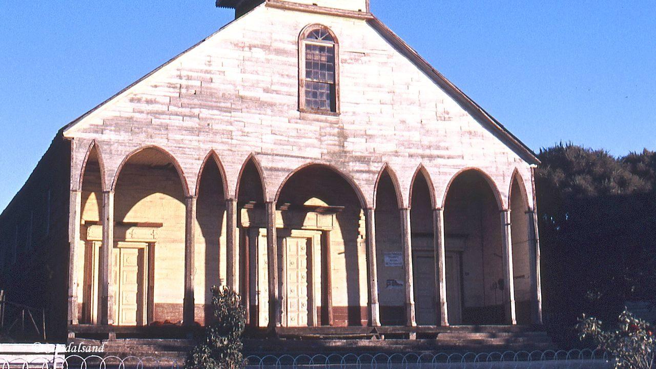 Chile - Chiloe - Iglesia de Dalcahue