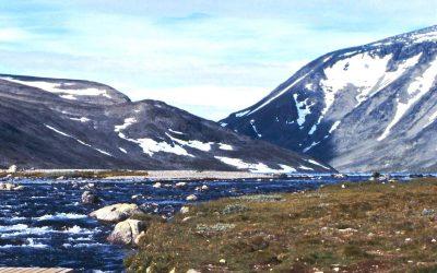 Hikes in Jotunheimen, Norway (1) Gjendesheim to Glitterheim