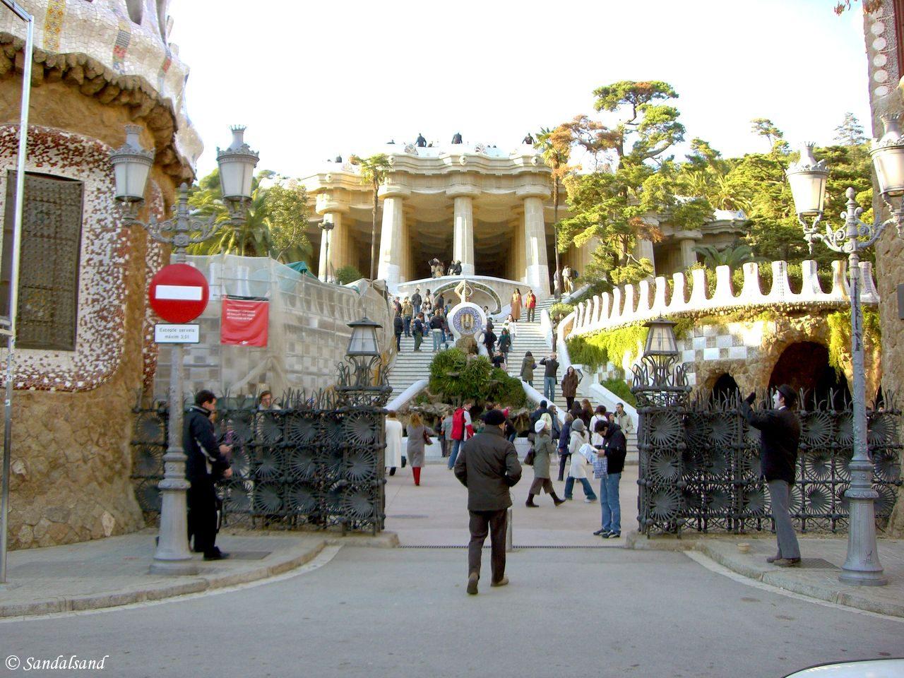Spain - Barcelona - Parc Güell