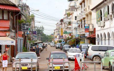 Vientiane, the capital of Laos
