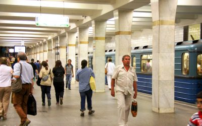 VIDEO – Russia – Moscow – Metro