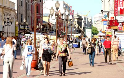 VIDEO – Russia – Moscow – Around Town