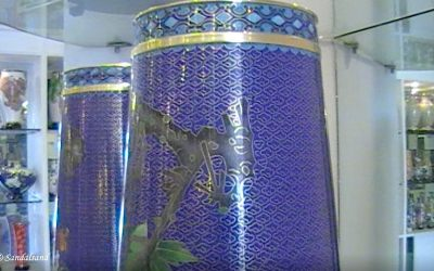 VIDEO – China – Beijing (3) Cloisonne factory