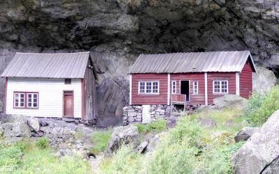 Norway – The Helleren houses in Jøssingfjord