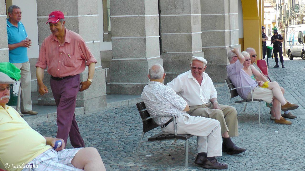 Portugal - Évora - Praça de Giraldo