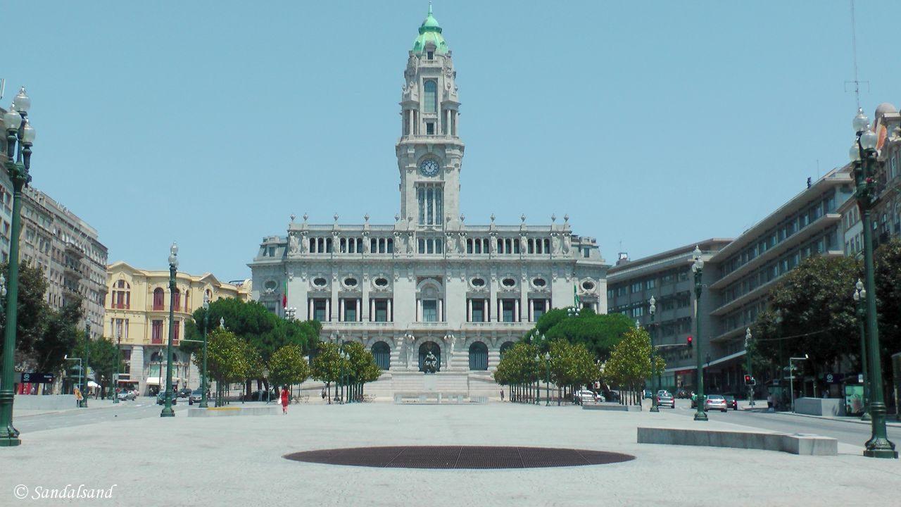 Portugal - Porto - Praça da Liberdade