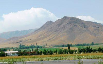 The fertile Fergana Valley