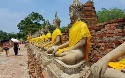An excursion to the once glorious capital of Ayutthaya, Thailand